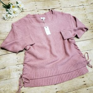 Lucky brand blush pink sweater